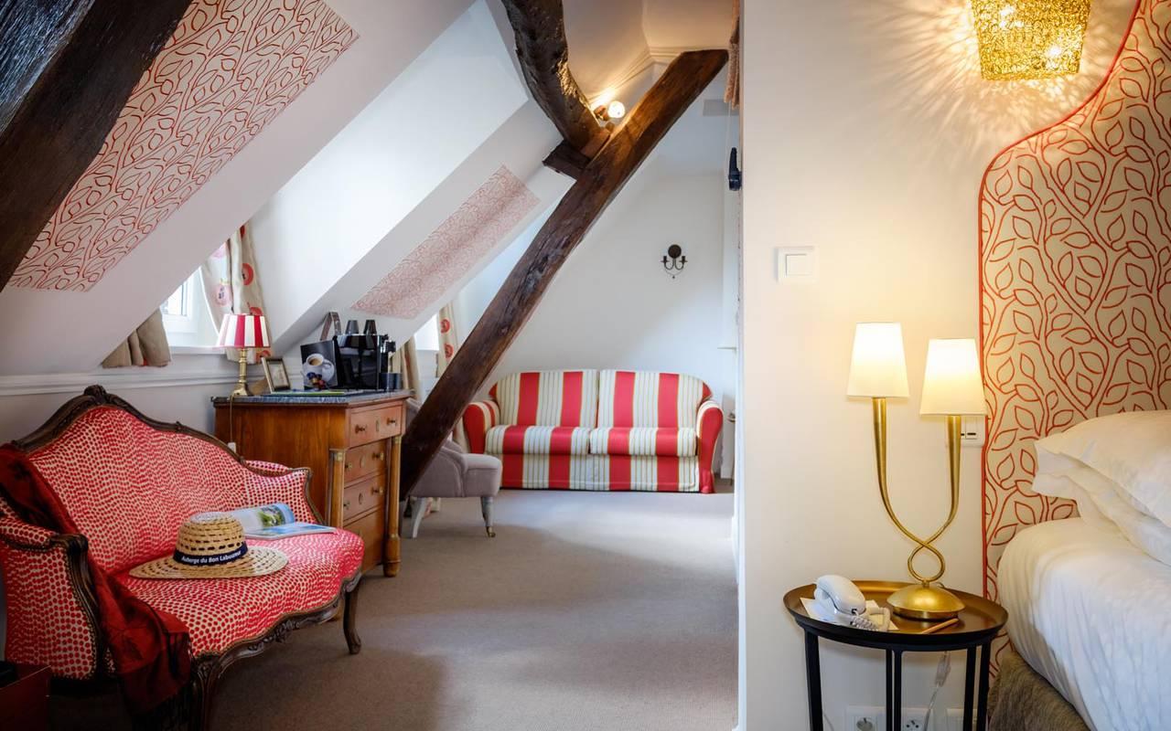 Prestigious living room hôtel touraine