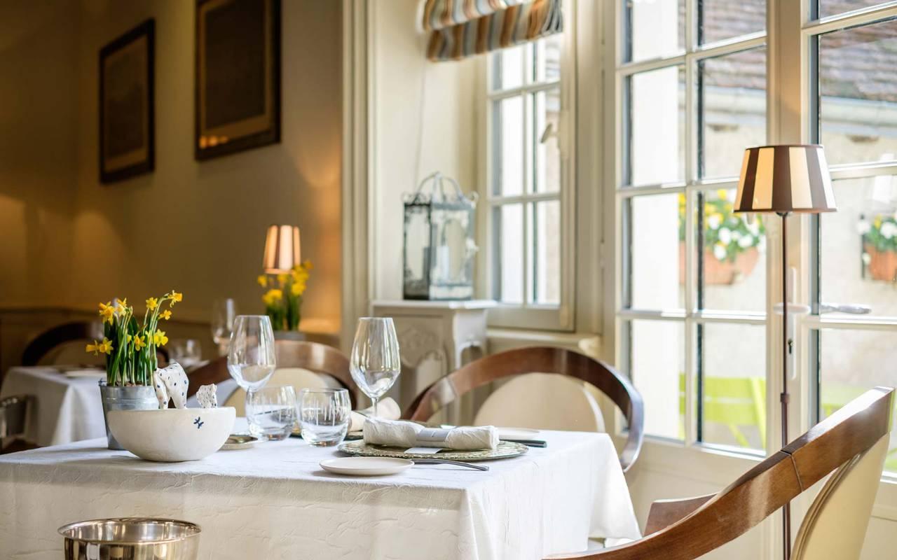 Grand restaurant décoré loire et indre