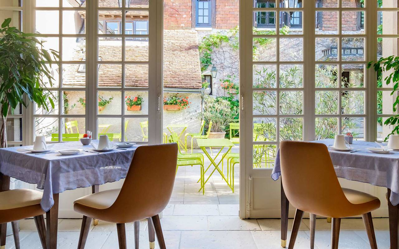 Garden view veranda seminaire professionnel loire et indre