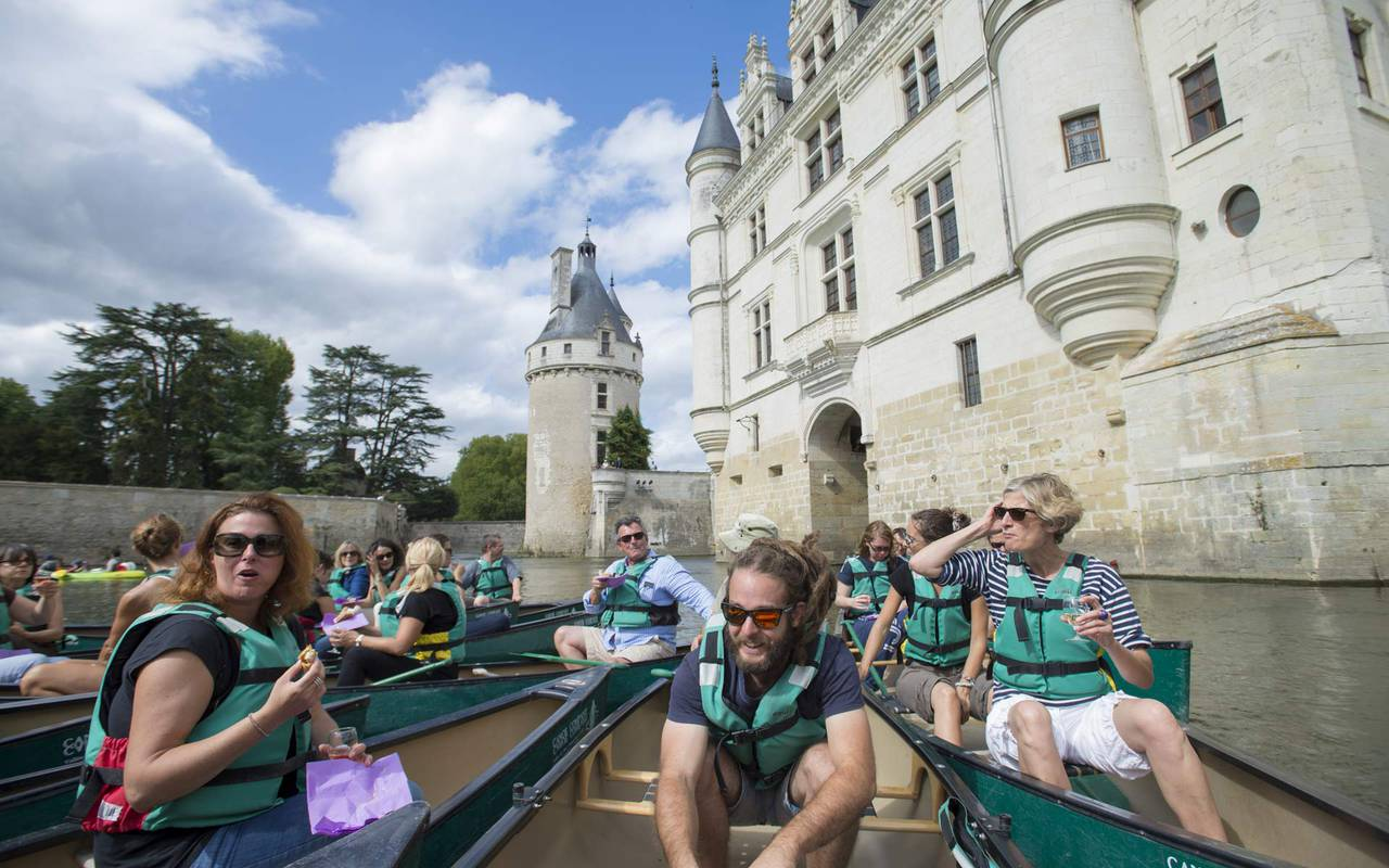 Canoe trip seminaire professionnel indre et loire