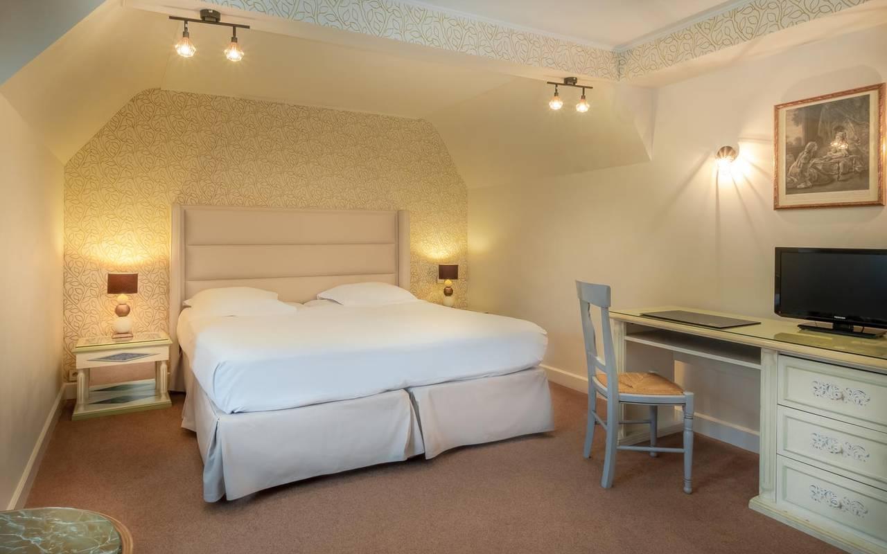 Chambre de charme splendide hôtel chenonceaux