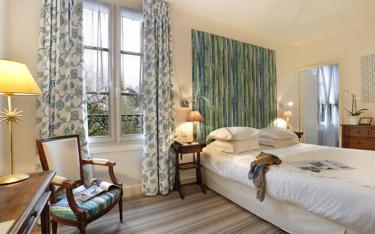 Chambre double originale hôtel chenonceaux