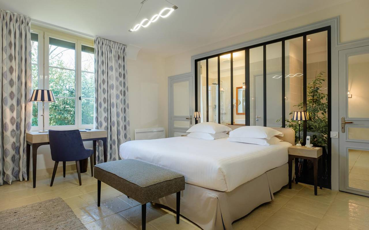 Chambre double luxueuse hotel tours