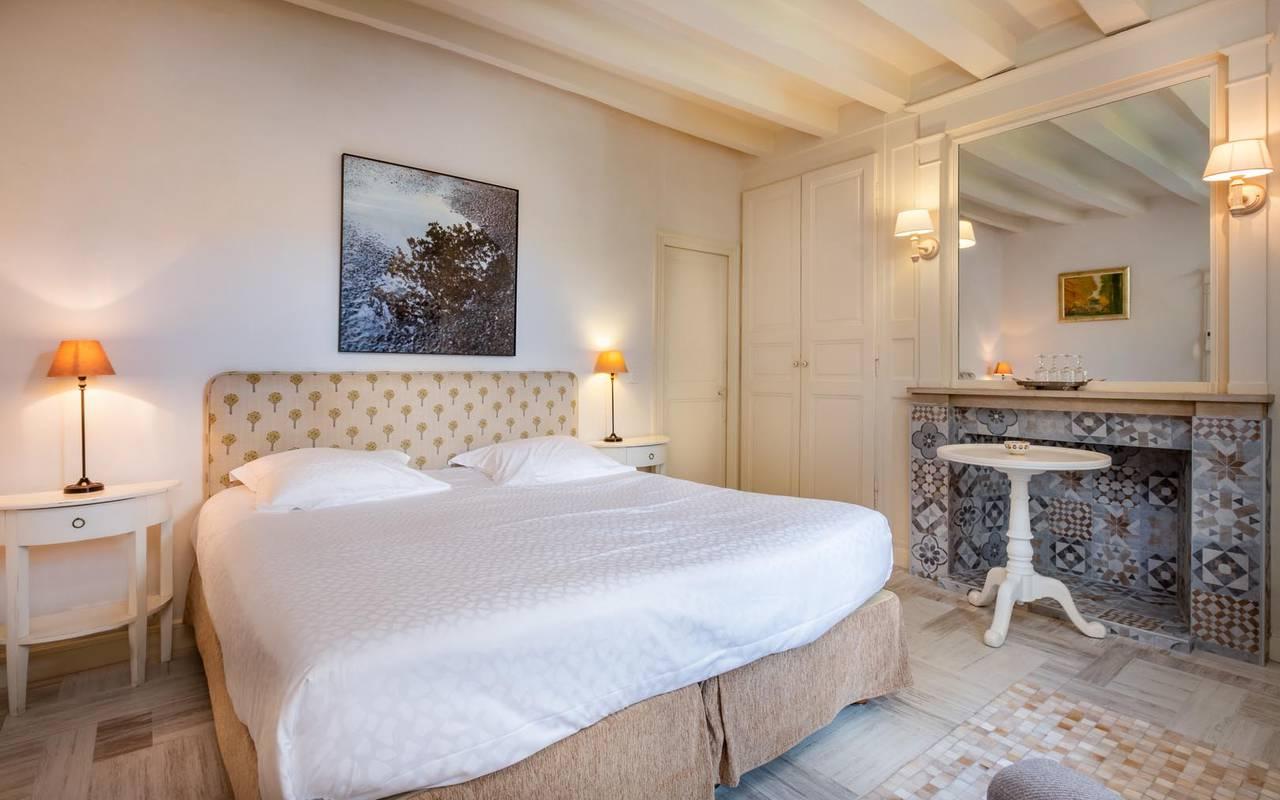Chambre double privilège hôtel tours