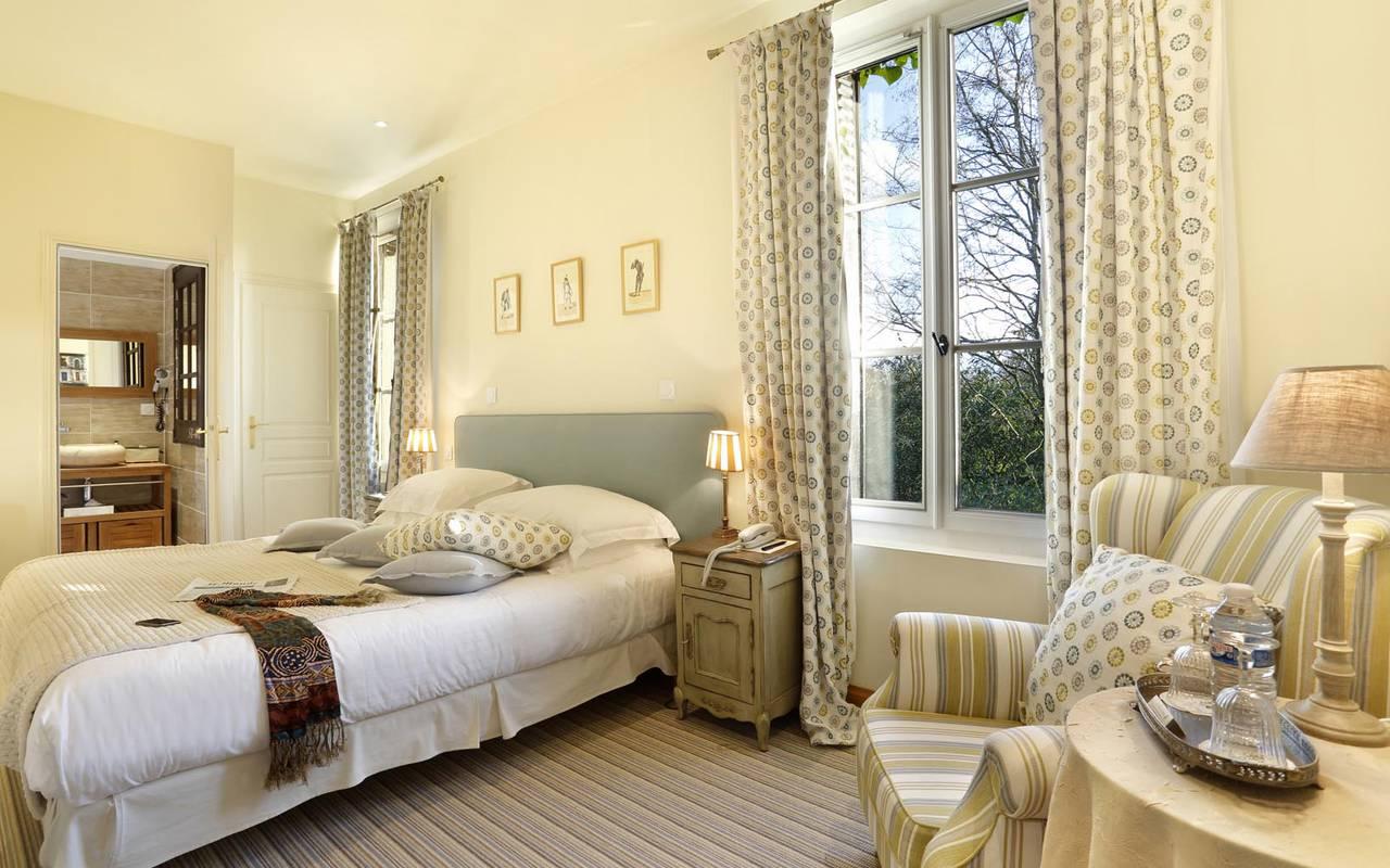 Chambre double prestigieuse hôtel de charme tours