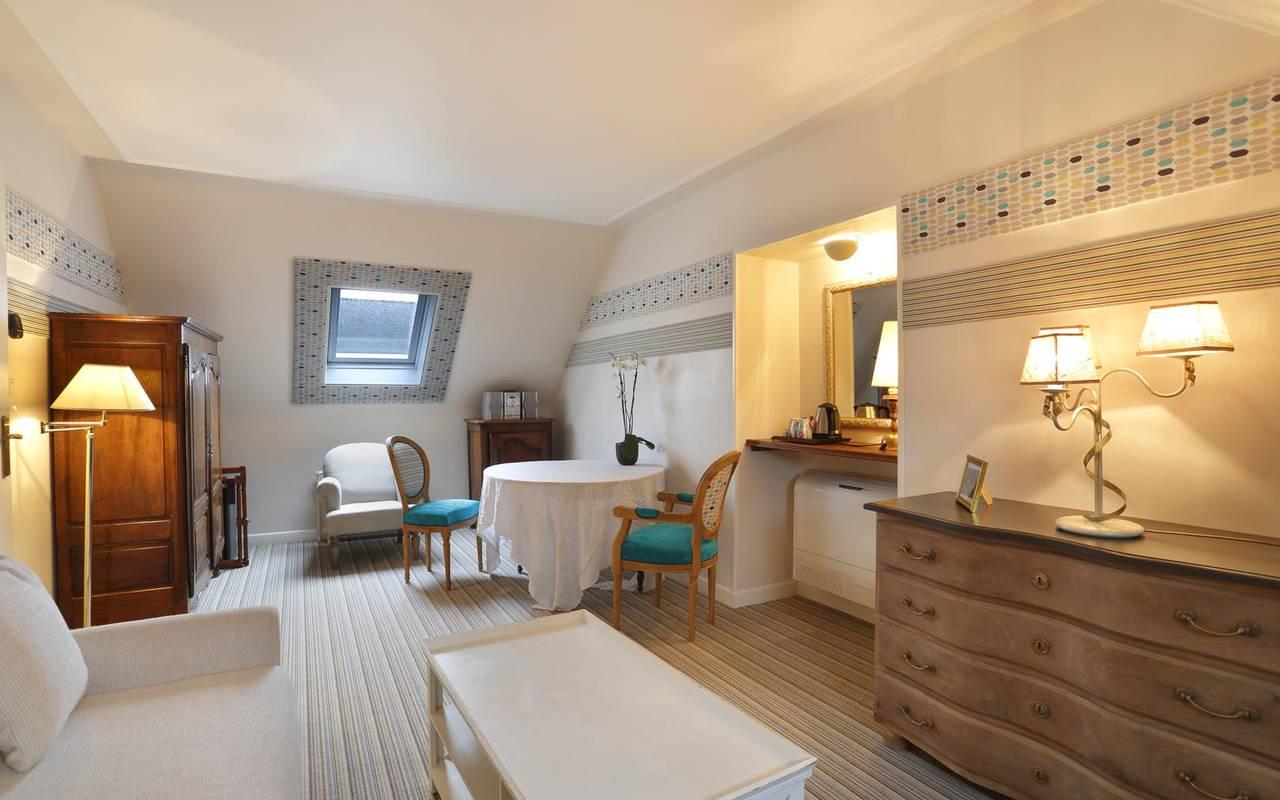 Espace relaxation hôtel loire