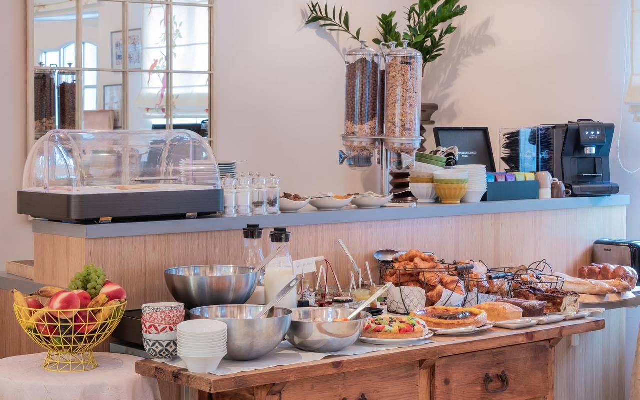 Délicieux breakfast restaurant loire et indre