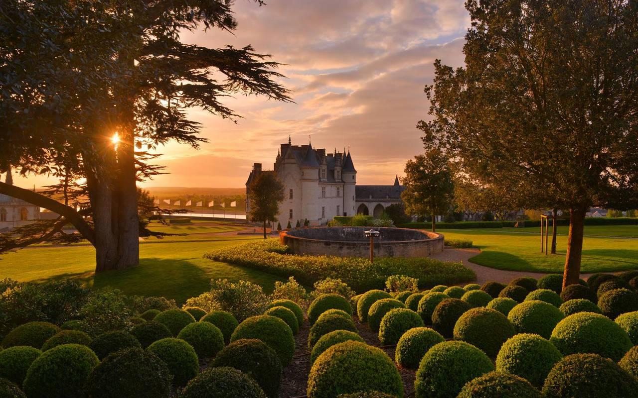 jardin week end chateau de la loire
