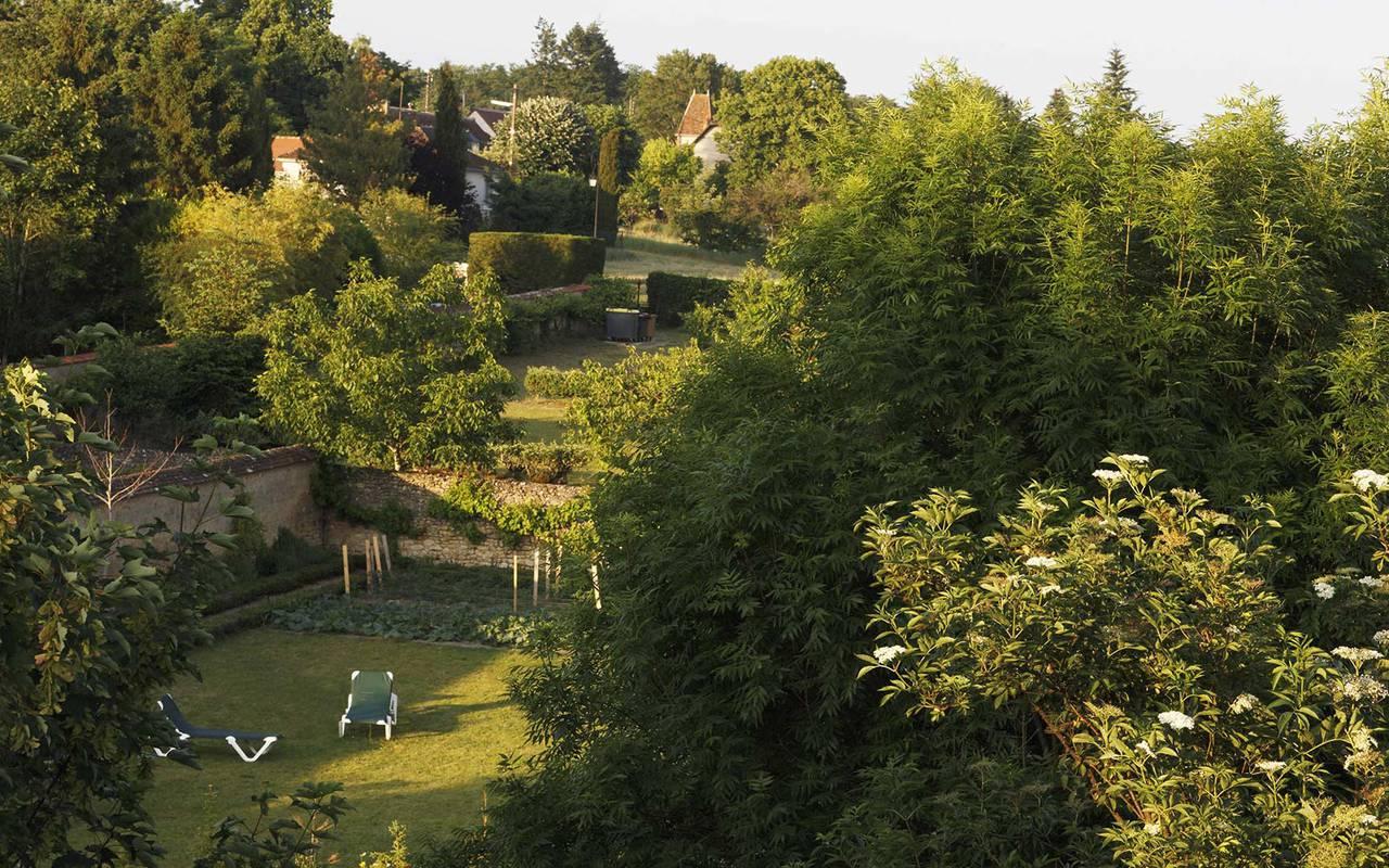 Grand arbres hôtel de luxe loire